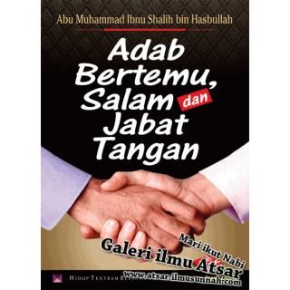 Buku Poket Adab Bertemu, Salam dan Jabat Tangan