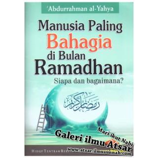 Buku Poket Manusia Paling Bahagia di Bulan Ramadhan