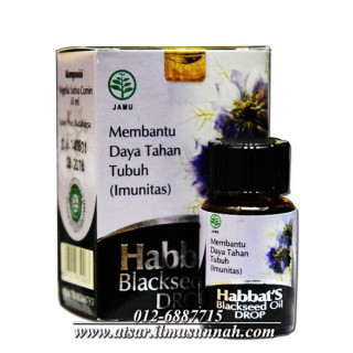 Habbat's Blackseed Oil Drop (Perahan Sejuk)