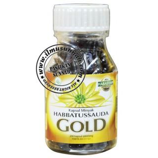 Habbatus Sauda Gold 200 Kapsul Minyak