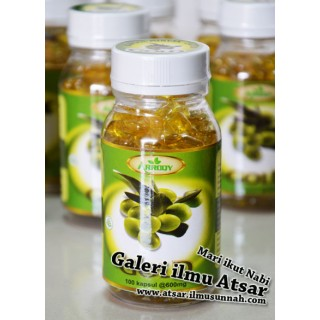Kapsul Gold Olive Oil (600mg x100)