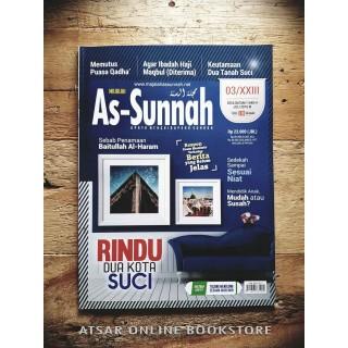 Majalah As-Sunnah Edisi Julai 2019 (Dzulqa'edah 1440H)