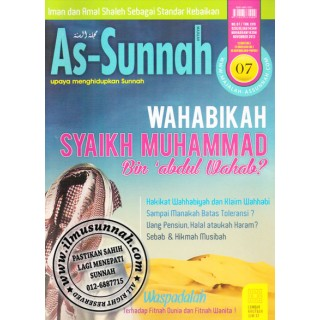 Majalah As-Sunnah Edisi November 2013