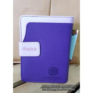 Al-Qur'an Tajwid dan Terjemahan Maghfirah 16cm x 12cm (Cover Ungu)