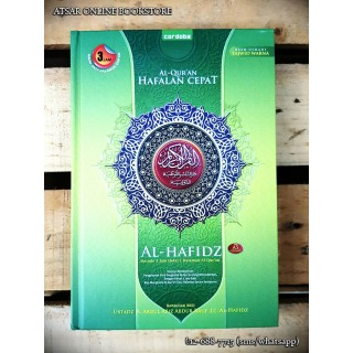 Al-Qur'an Al-Hafidz, Metode 3 Jam Hafal 1 Halaman Al-Qur'an (Cover Hijau)