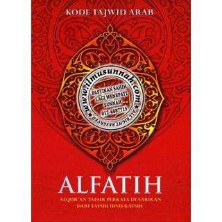 Al-Qur'an Al-Fatih Terjemahan Per Kata Bertajwid Saiz A5 (Cover Merah)