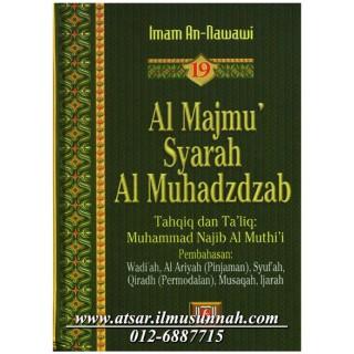 Al-Majmu' Syarah Al-Muhadzdzab Jilid 19 (Perbahasan Wadi'ah, Pinjaman, Modal, dan Sewa-Menyewa)