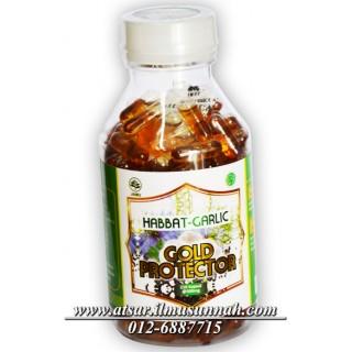Habbatus Sauda Oil Plus Garlic Oil Gold Protector 210 Kapsul
